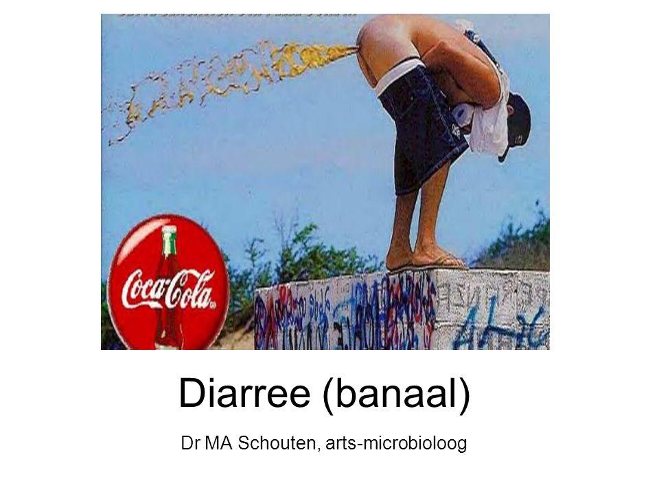 Diarree 2x of meer per dag meer dan 200 gram per dag door vezelrijk dieet > 300 g/d dunne ontlasting incontinentie