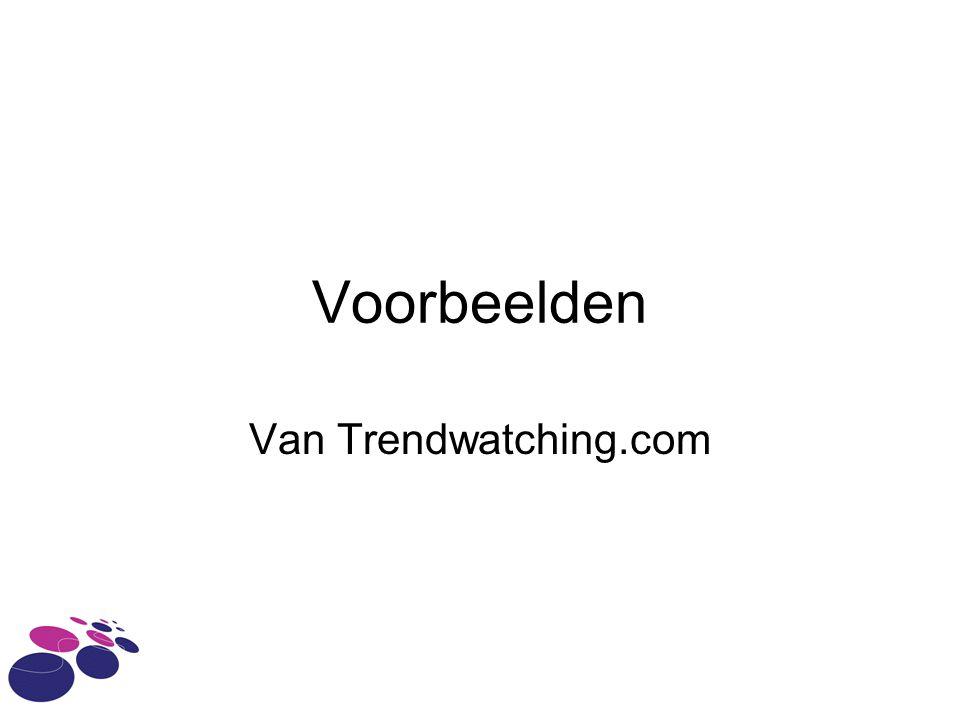 Voorbeelden Van Trendwatching.com