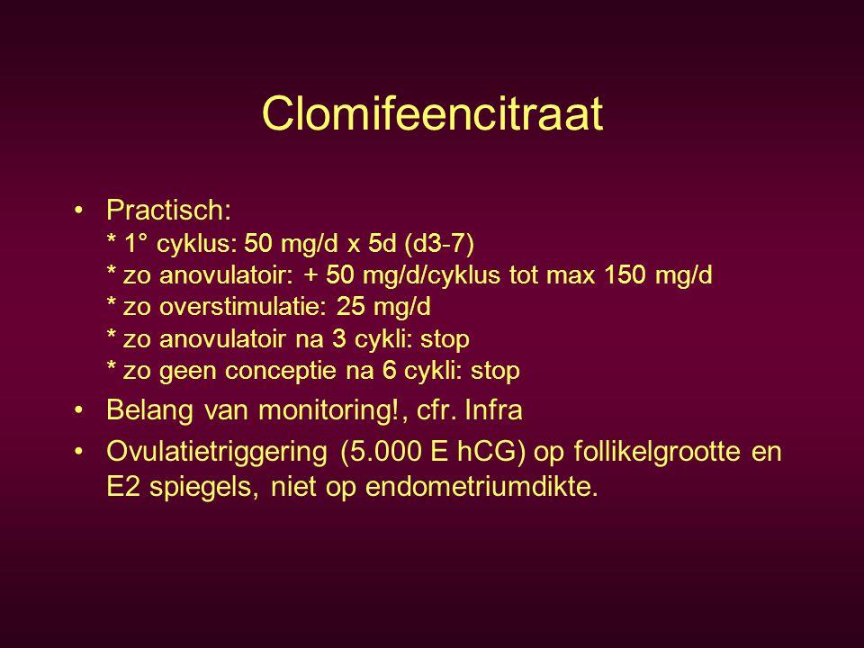 FSH, urinair of recombinant Cochrane Database: 1.Recombinant vs Urinary (7/2000).