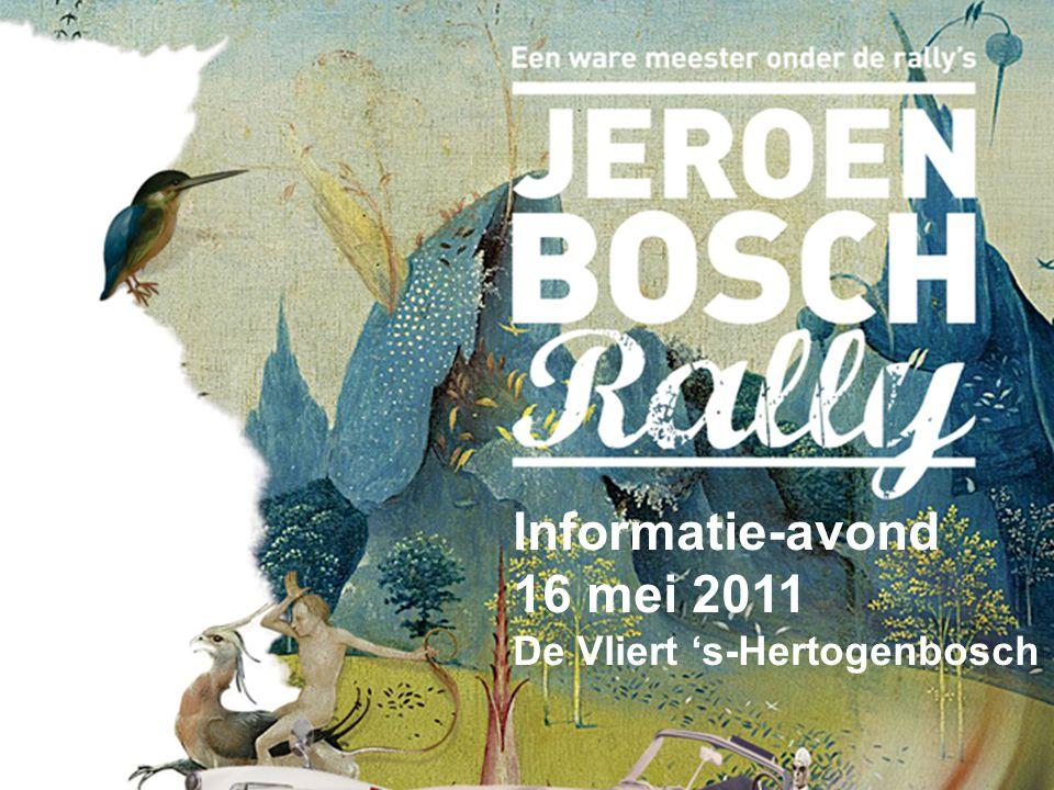 Informatie-avond 16 mei 2011 De Vliert 's-Hertogenbosch