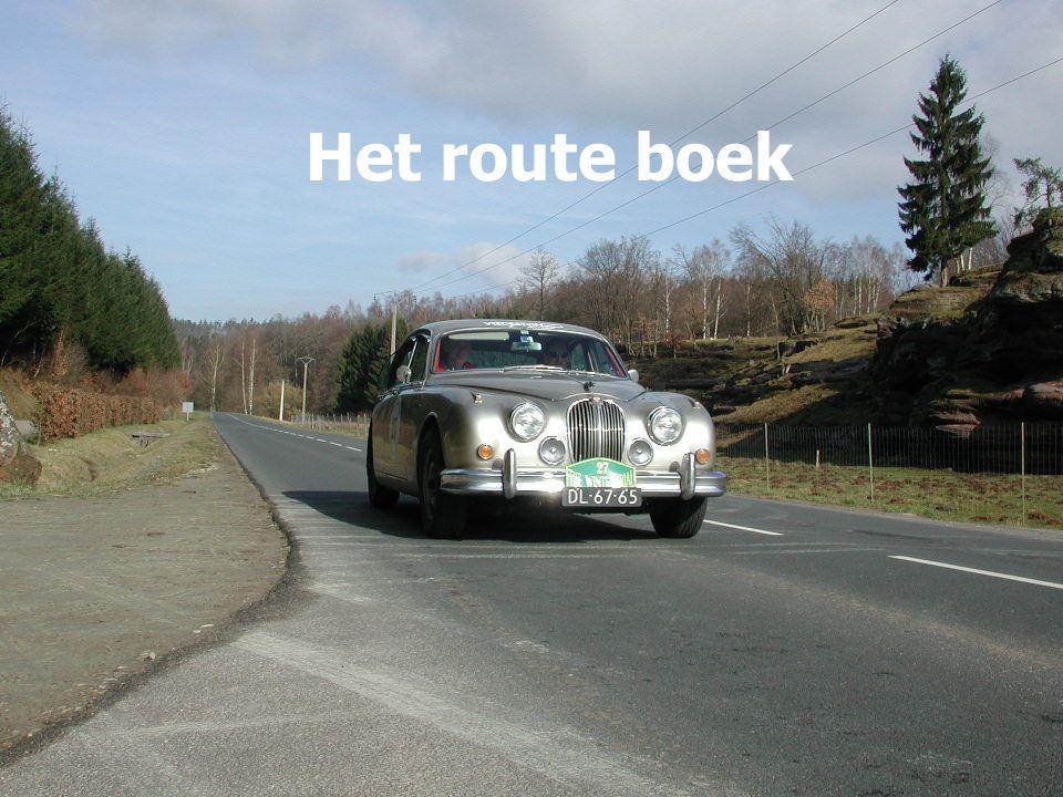 Het route boek