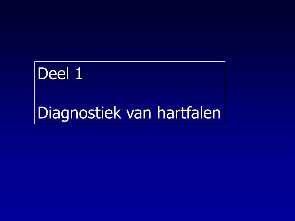 CHF : Diuretica Resistentie (I) Controleer ZOUT RESTRICTIE Dosis verhogen van lisdiuretica – ev bepaling effectieve dosis adhv meeting van urineproductie eerste 6 uur na toediening Omschakelen furosemide naar bumetanide (minder interferentie darmresorptie) Dosis spreiden over 24 u – PO: 2 maal tot 3 maal daags – IV: continu infuus (vb.