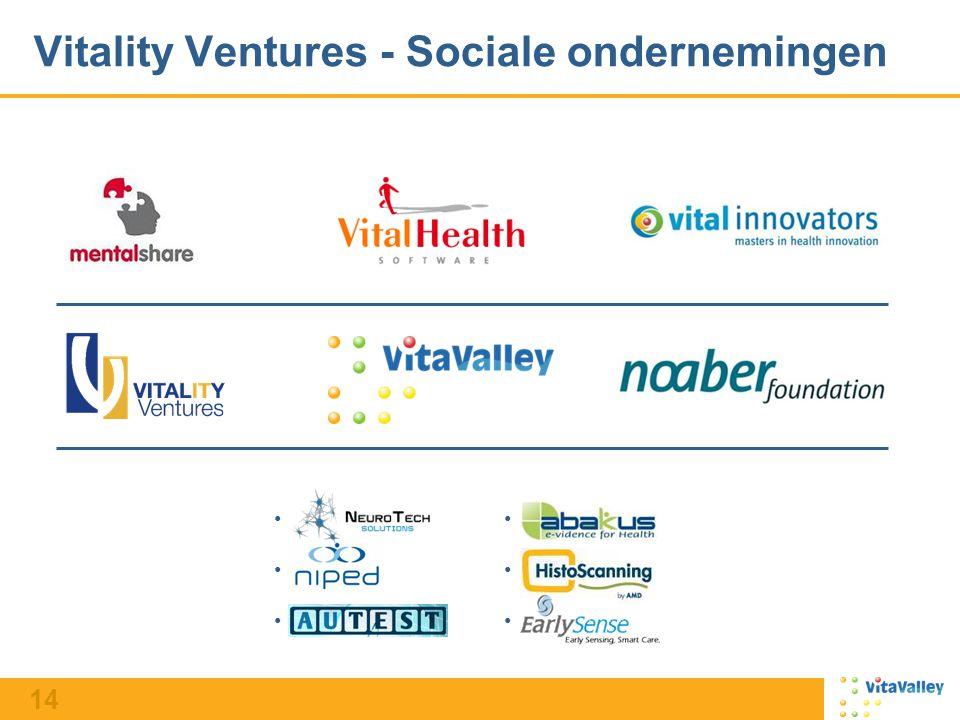 14 Vitality Ventures - Sociale ondernemingen