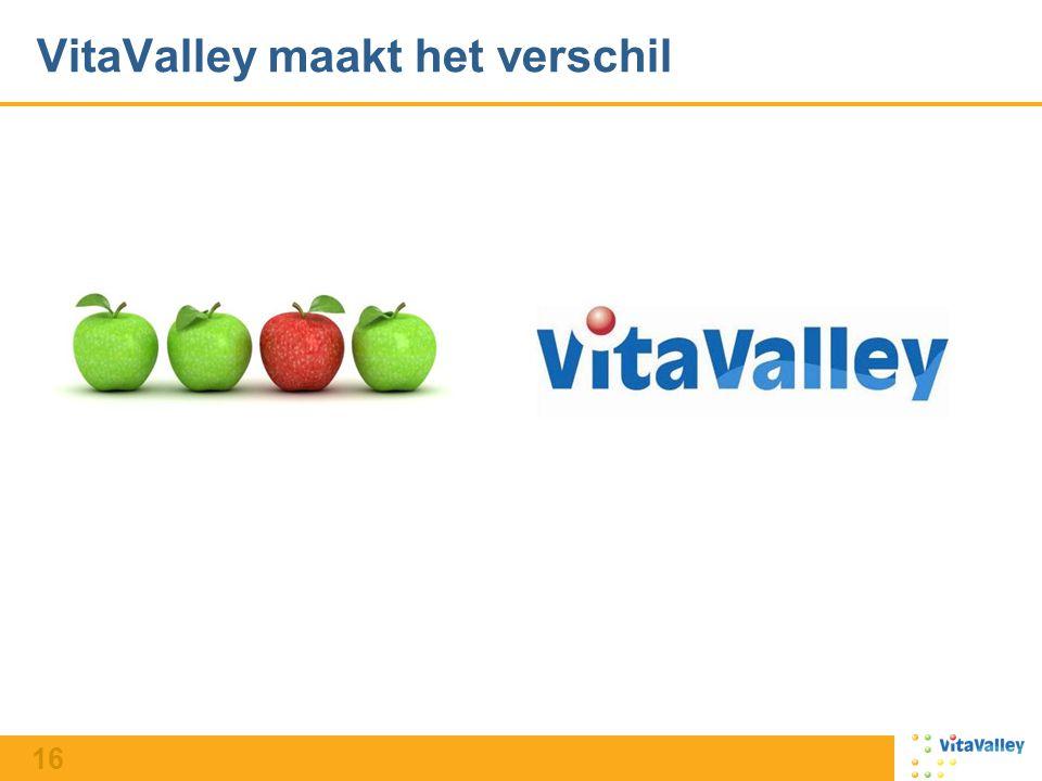 16 VitaValley maakt het verschil