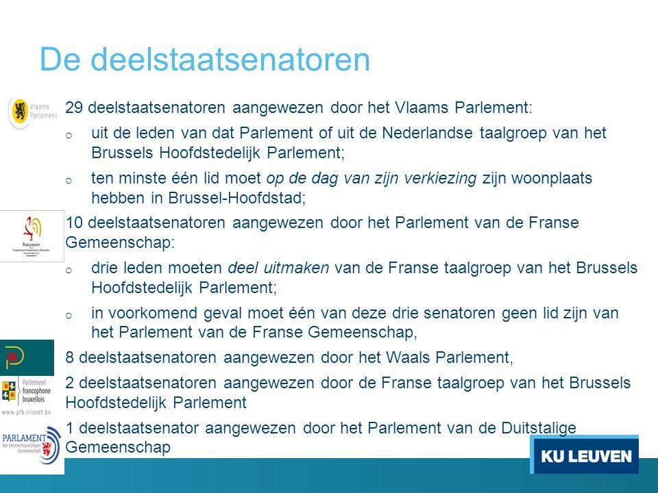 Probleem 1: een driedubbele kiesdrempel ten minste een zetel in het Vlaams Parlement (art.
