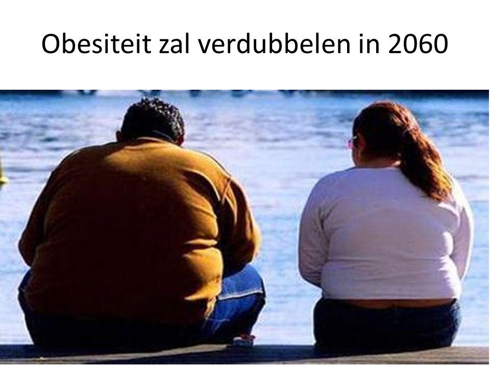 Obesiteit zal verdubbelen in 2060