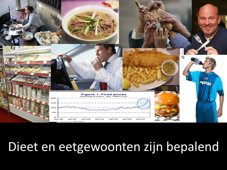Dieet en eetgewoonten zijn bepalend