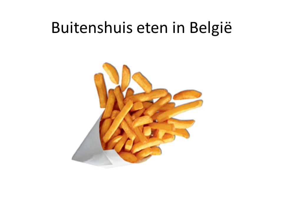 Buitenshuis eten in België
