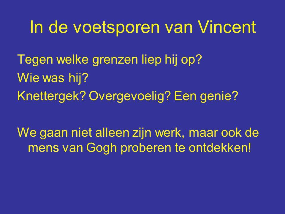 Definitief programma Eva Geene (Van Goghhuis Zundert) 'verkent' de plaatsen waar we heen gaan.