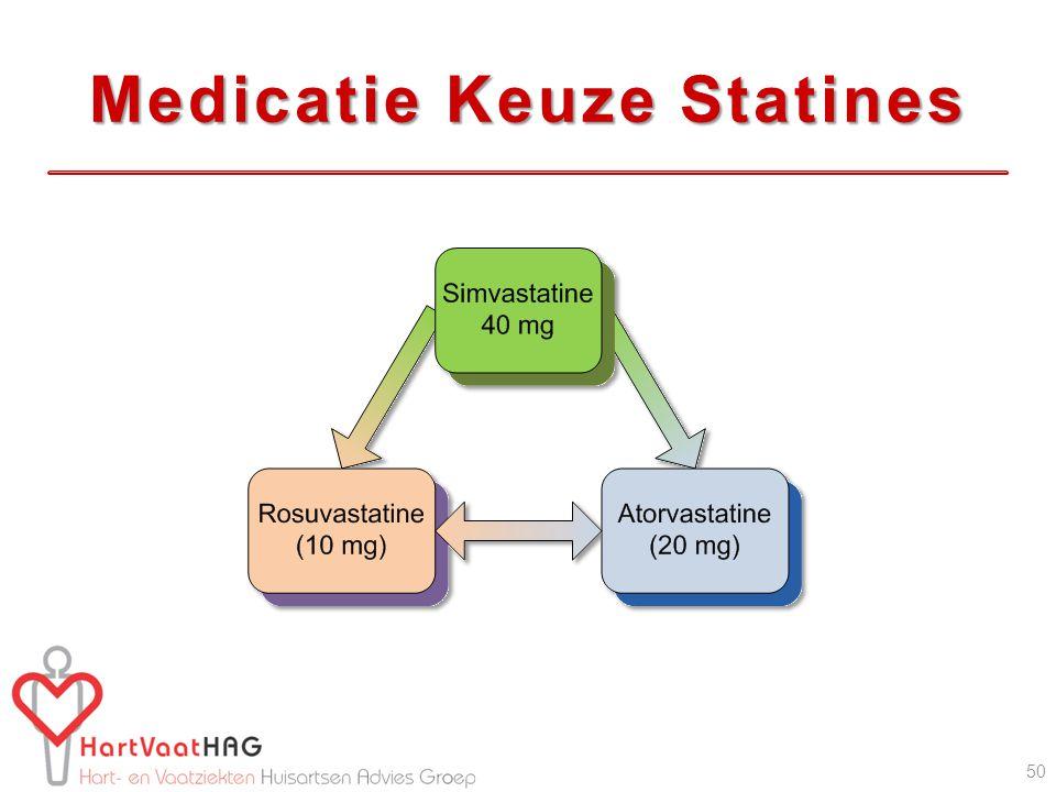 Medicatie Keuze Statines 50