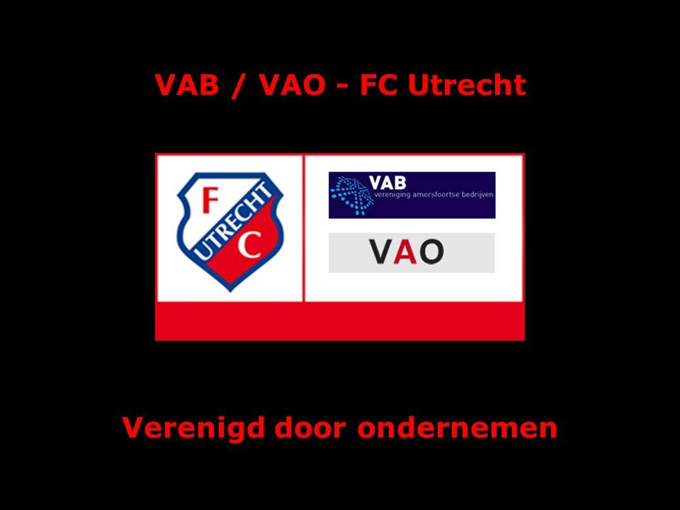 VAB / VAO - FC Utrecht Maart 2010 Verenigd door ondernemen
