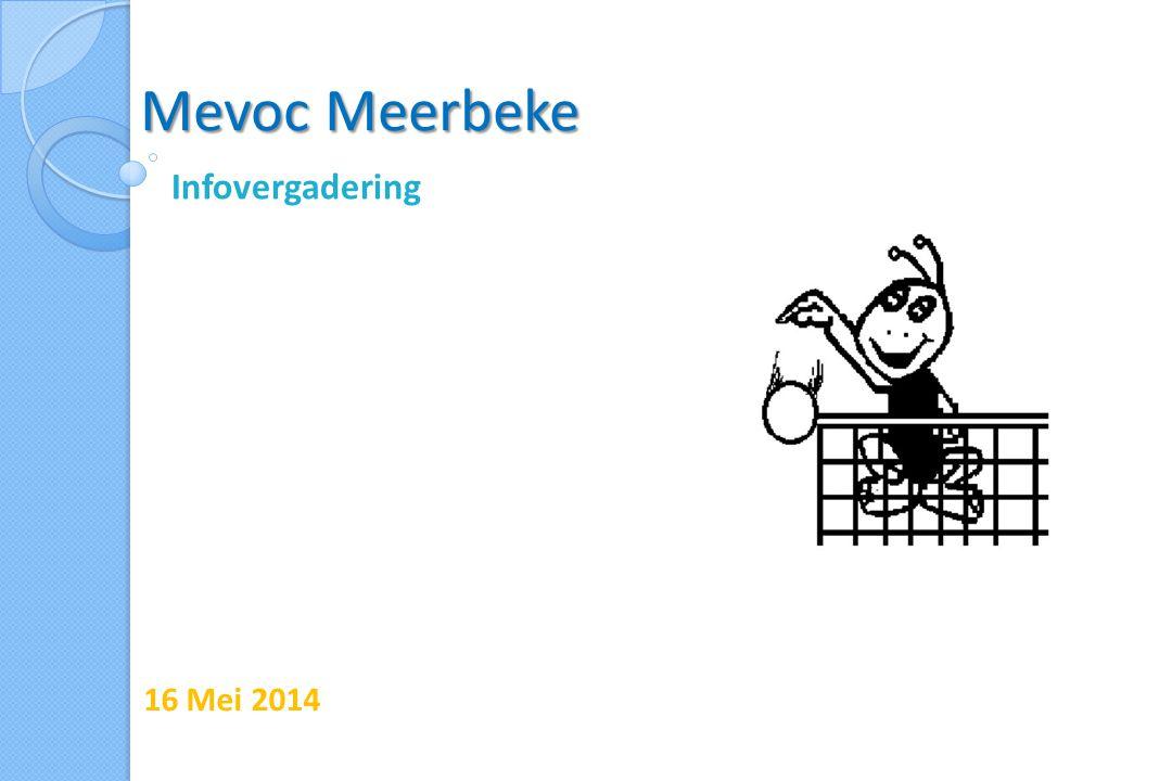 Mevoc Meerbeke Infovergadering 16 Mei 2014