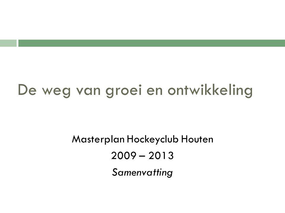 De weg van groei en ontwikkeling Masterplan Hockeyclub Houten 2009 – 2013 Samenvatting