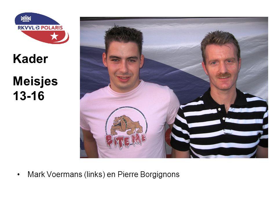Staand (v.l.n.r): Vincent Schoenmaeckers (D2), Paul Kerstgens (D2), Jacques Beckers (leider D1), Jean-Pierre Gijsen (trainer D2), Theo Tilli (ass.