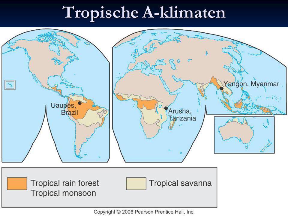 Tropische A-klimaten