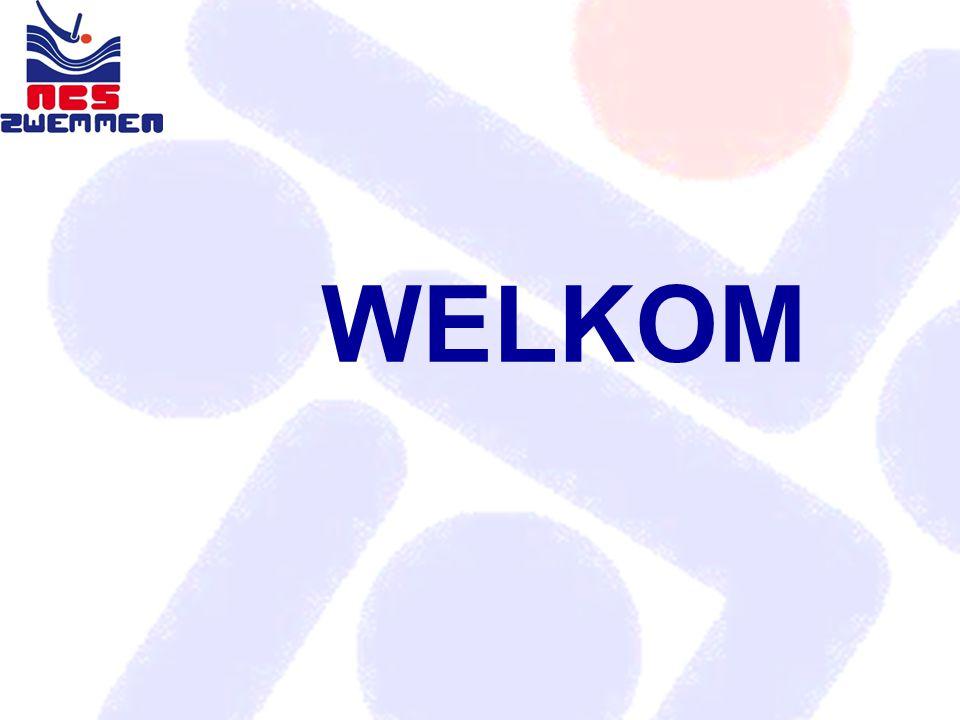 JAARLIJKSE VERGADERING met wedstrijdzwemmende verenigingen 8 mei 2010 NBC Nieuwegein