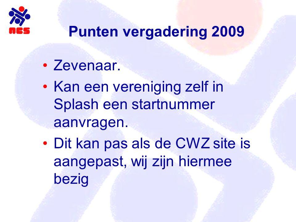 Voorstel Indeling 2010 – 2011 3 afdelingen Almere 1 Lisse 1 Deurne Eindhoven Pijnacker Almere 2 Afdeling 1 Afdeling 2 Afdeling 3 Pijnacker/ Den Haag Helmond Geleen IJmuiden Hoofddorp Neptunus Born Apeldoorn Lisse 2 Rotterdam Zevenaar Tilburg Haarlem