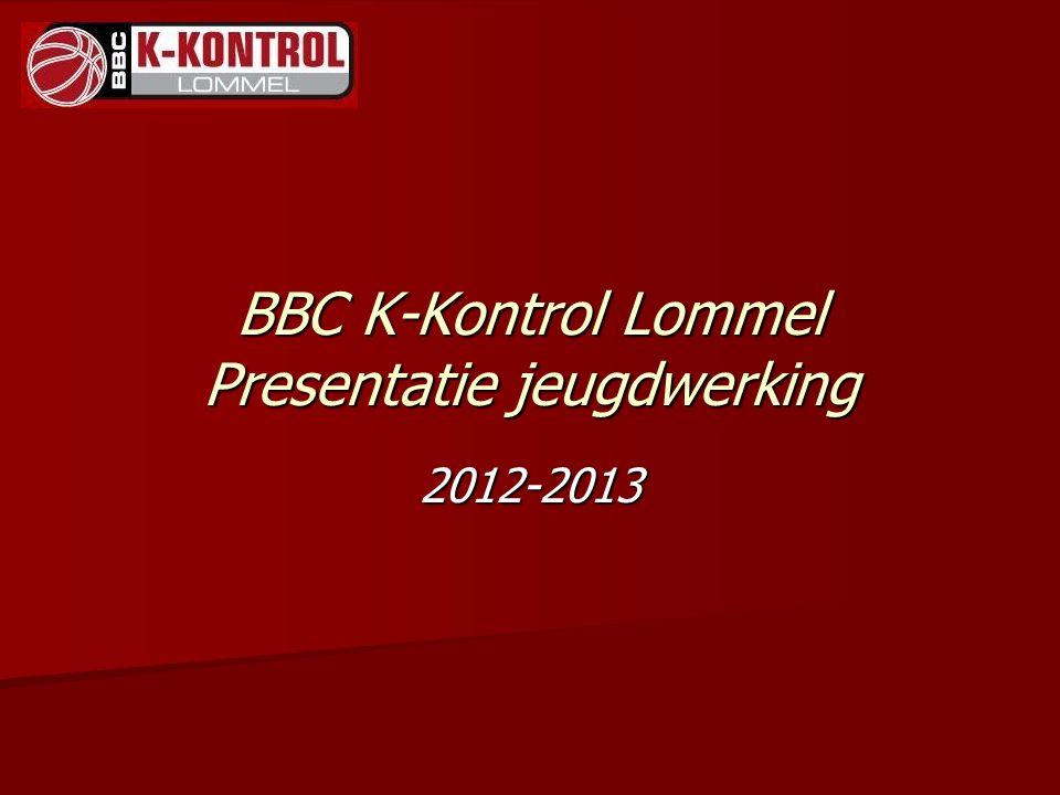 BBC K-Kontrol Lommel Presentatie jeugdwerking 2012-2013