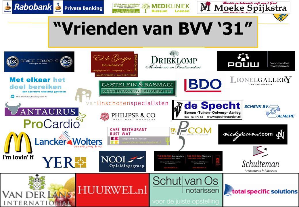 22 © 2010 Vrienden van BVV '31