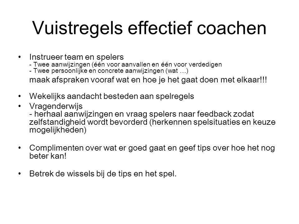 Een goede coach.