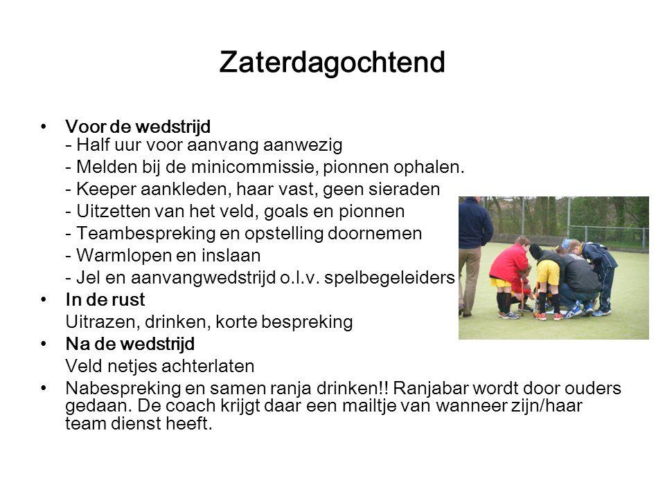 Thuis en uitwedstrijden Informatie over wedstrijden staat in het clubblad (site) of op de site of hockey.nl Afmelden voor de wedstrijd tijdig bij de c