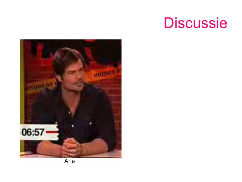 Discussie Arie