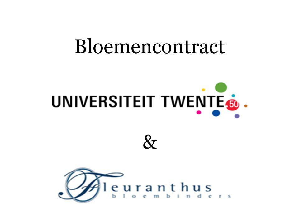 Bloemencontract &