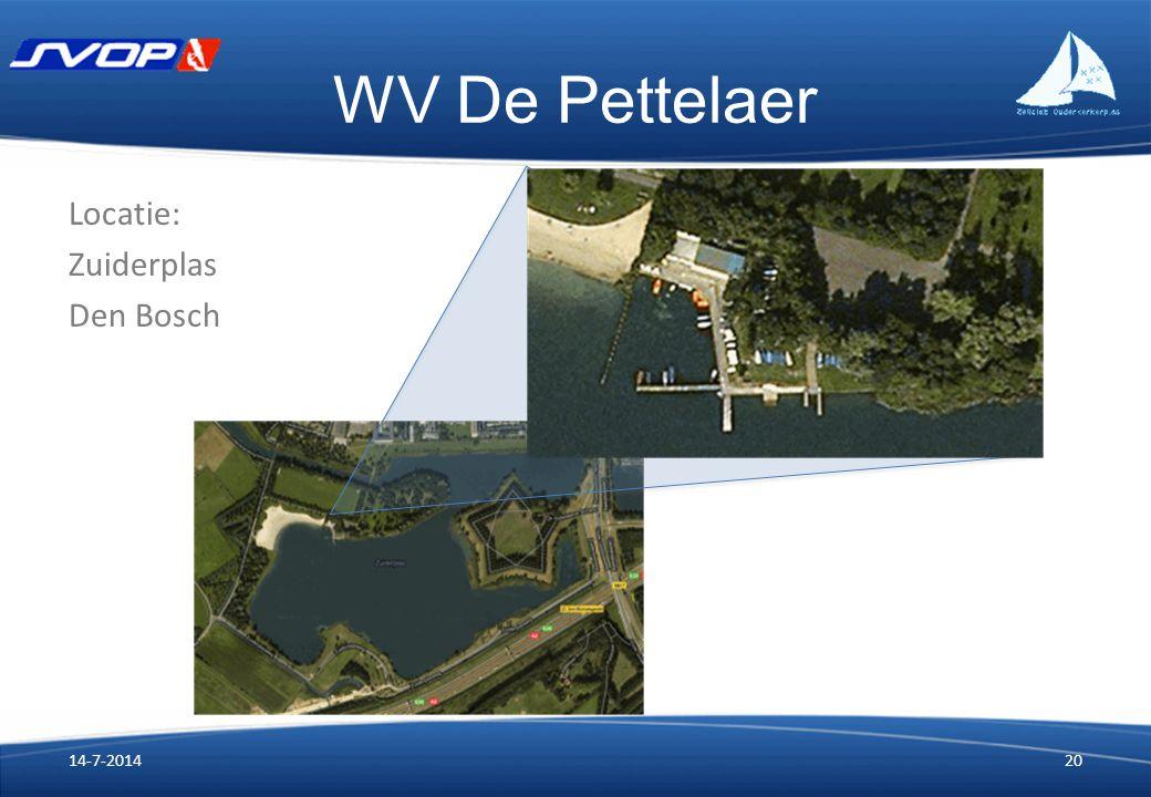 WV De Pettelaer 14-7-201420 Locatie: Zuiderplas Den Bosch