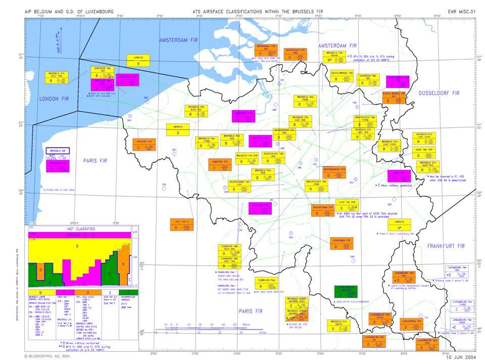 LFAG2 Zuid Deze gebieden kunnen afzonderlijk actief worden In principe vraagt de aanvrager ook het zuidelijk deel aan Het resterende gebied blijft uiteraard LFAG1 dus FL 50 LFAG2