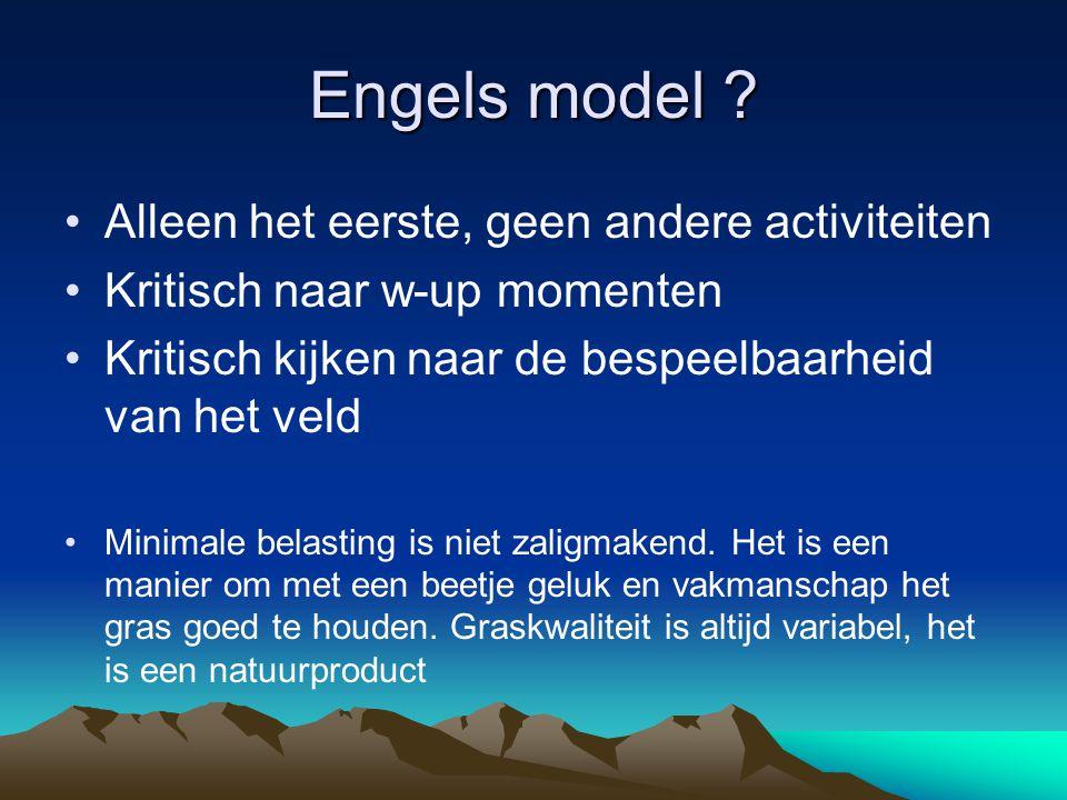 Engels model .