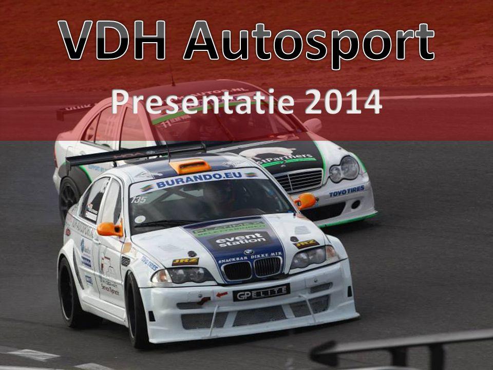 VDH Autosport De stichting VDH Autosport is actief in de (sub) top van de (inter-) nationale autosport.
