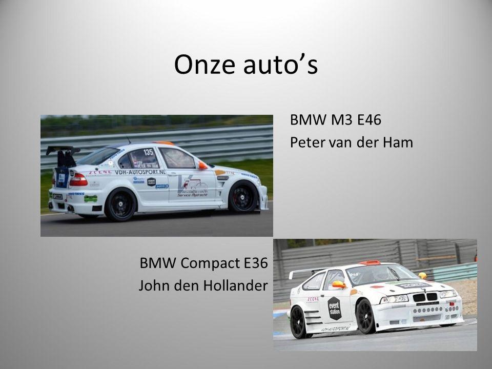Onze auto's BMW M3 E46 Peter van der Ham BMW Compact E36 John den Hollander