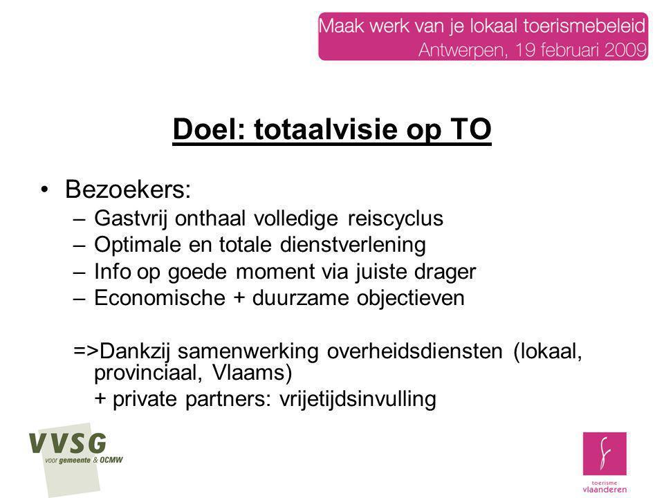 Beleidsvoorwaarden: efficiënte dienstverlening 1.