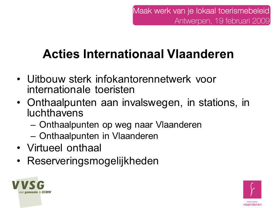 Regionaal toeristisch onthaal 1 ste workshop: Antwerpse Kempen Westhoek Gepland: Vlaamse Ardennen Groene Gordel …