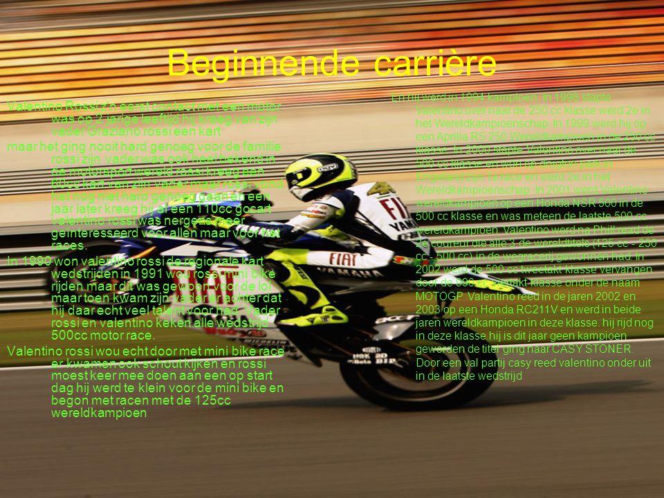 De overstap Voor het seizoen 2004 maakt hij de overstap van honda naar Yamaha Voor een jaarsalaris van -naar verluidt- 17 miljoen euro (het seizoen 2002 verdiende hij nog vijf miljoen dollar) stapte hij op een motor waarvan velen dachten dat deze kansloos zou zijn.