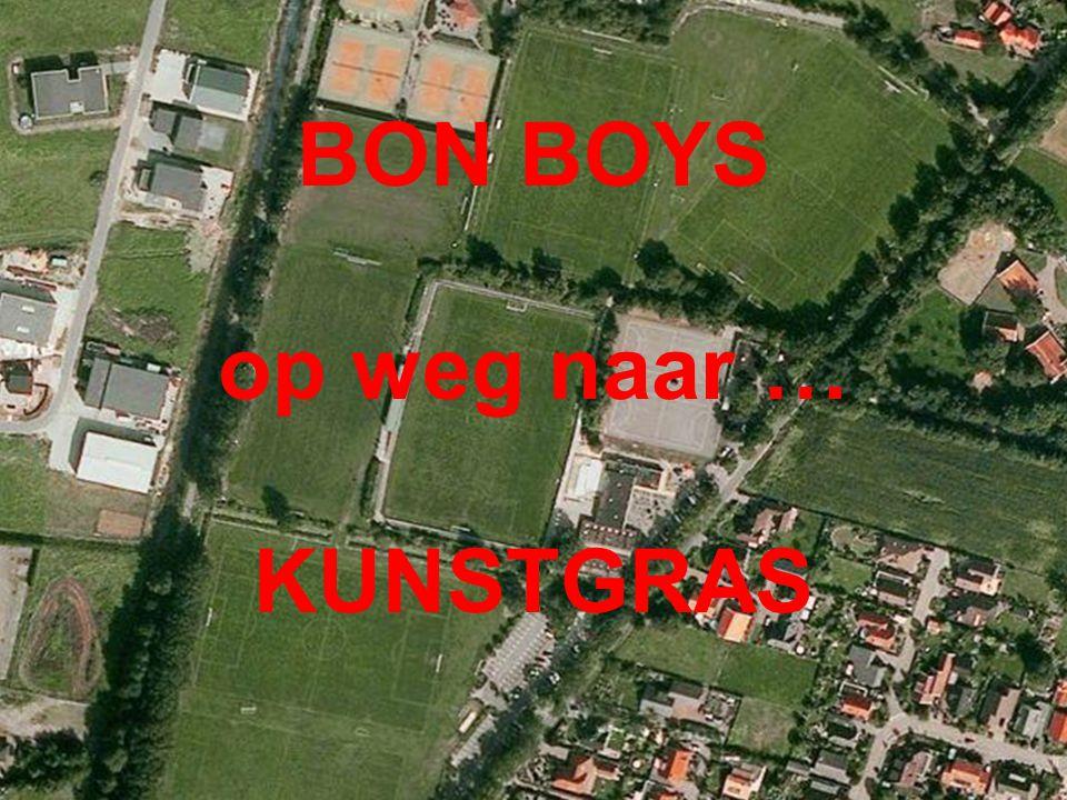 BON BOYS op weg naar … KUNSTGRAS