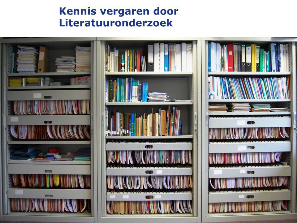 Kennis vergaren door Literatuuronderzoek