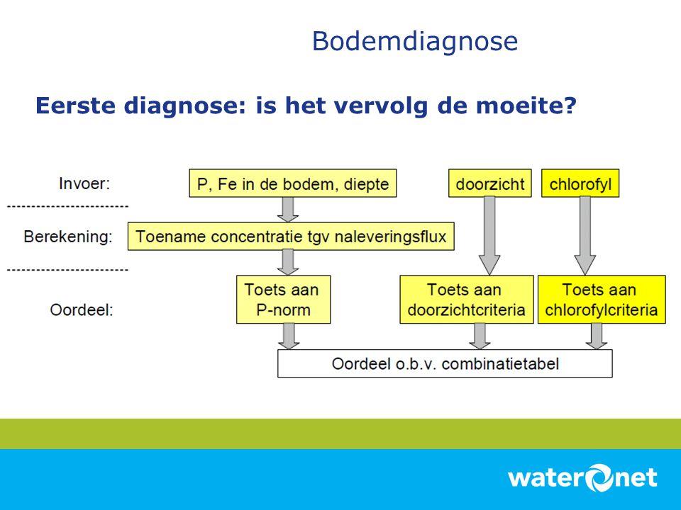 Eerste diagnose: is het vervolg de moeite?