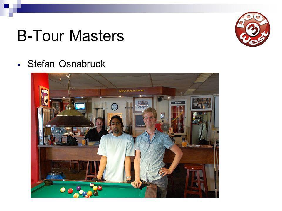 B-Tour Masters  Stefan Osnabruck