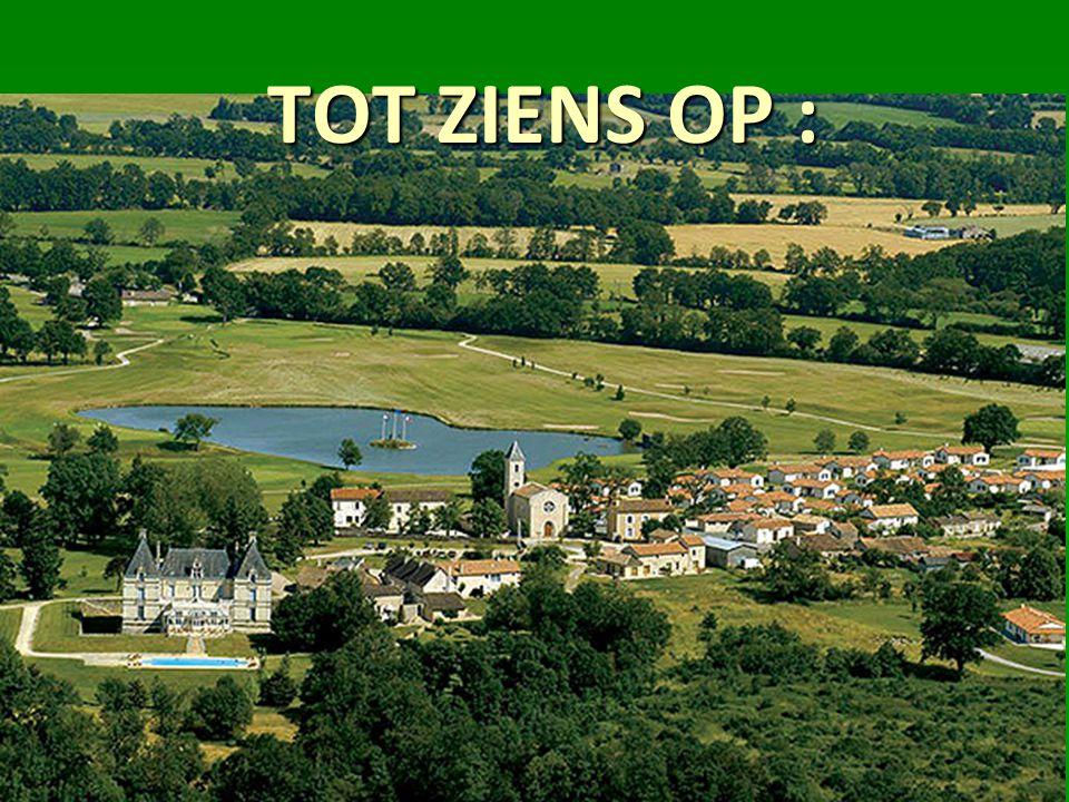 TOT ZIENS OP :