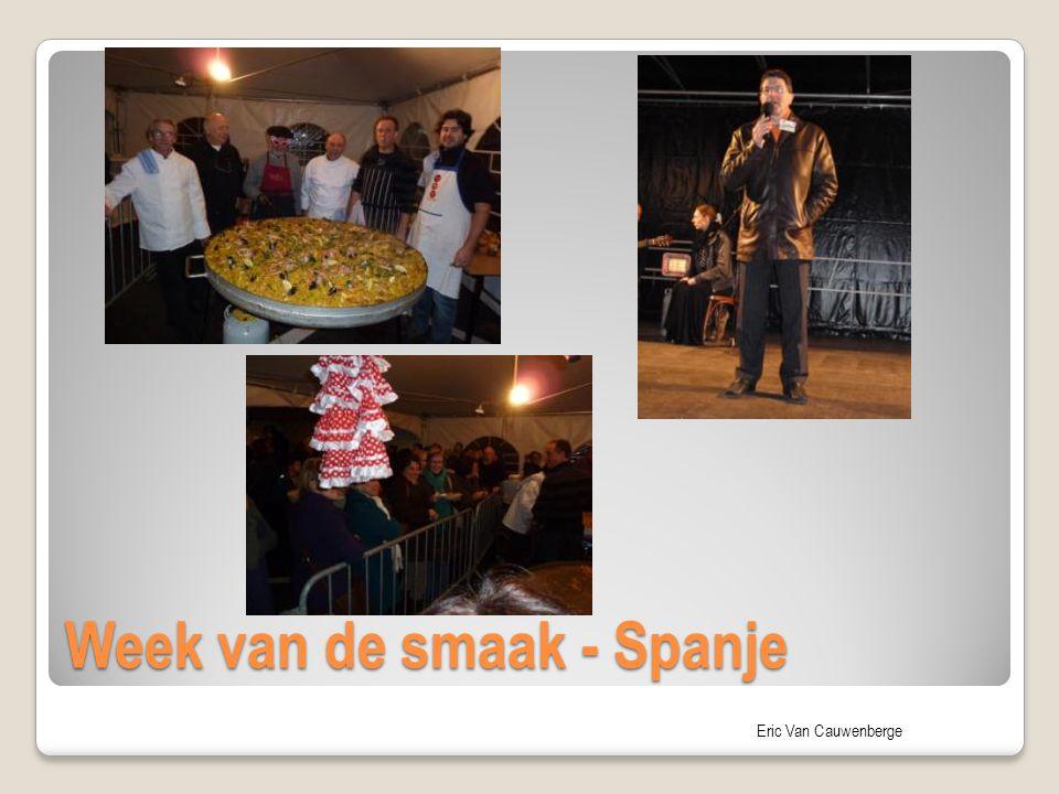 Eric Van Cauwenberge Week van de smaak - Spanje