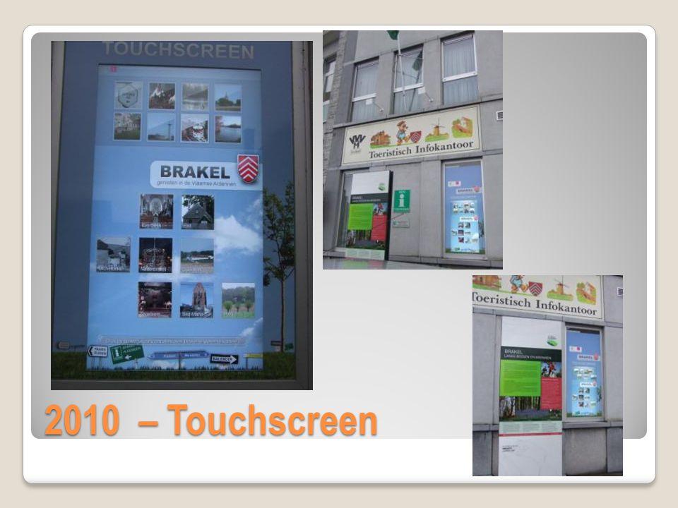 Eric Van Cauwenberge 2010 – Touchscreen