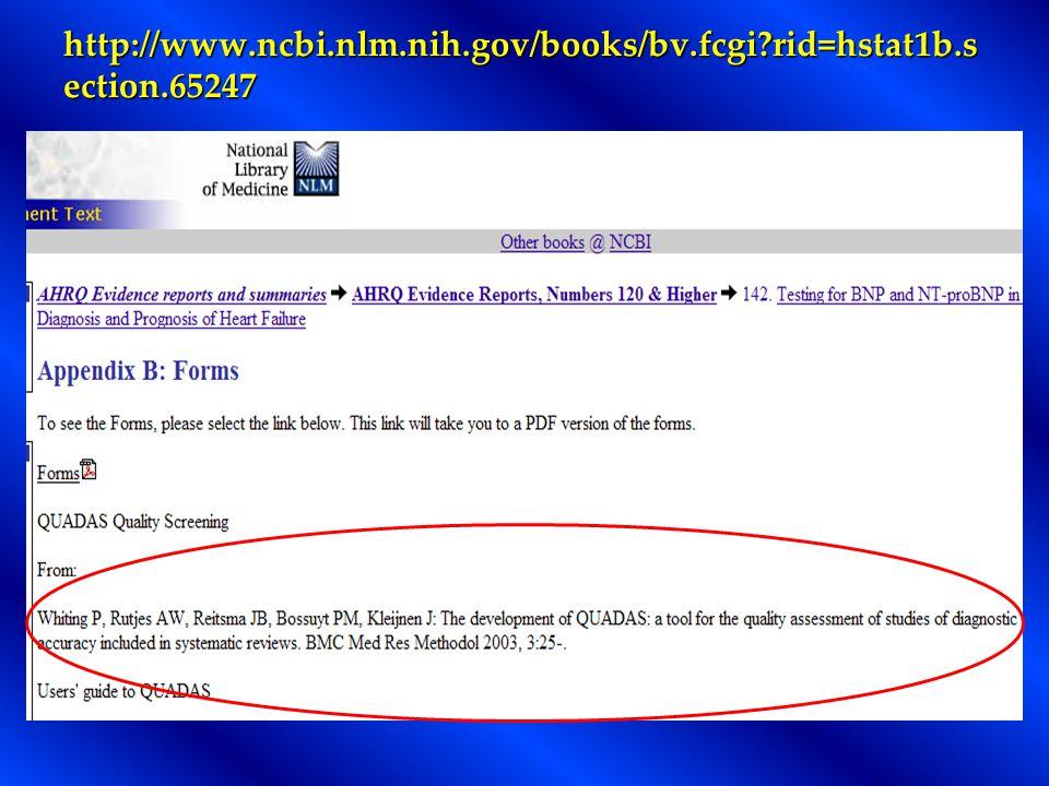 http://www.ncbi.nlm.nih.gov/books/bv.fcgi?rid=hstat1b.s ection.65247