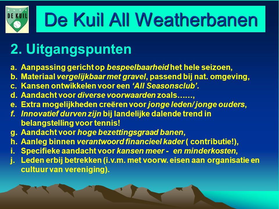 De Kuil All Weatherbanen 2.