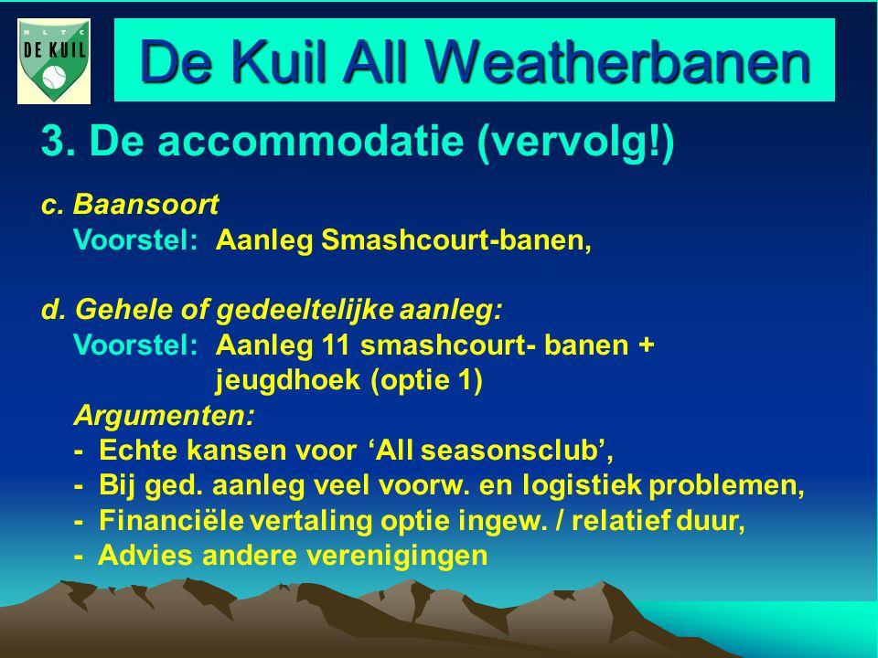 De Kuil All Weatherbanen 6.De communicatie met de leden Vanuit AWB cie.
