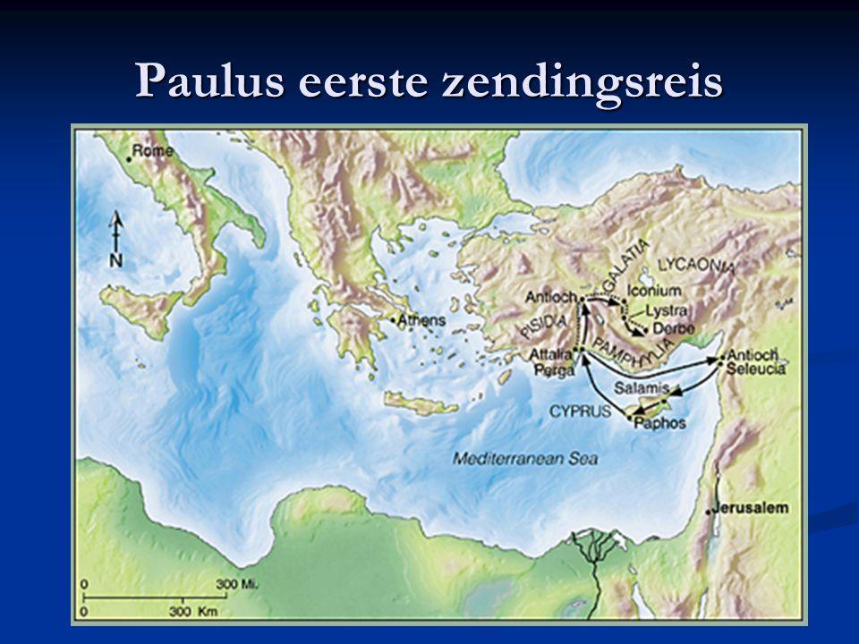 17 Paulus eerste zendingsreis