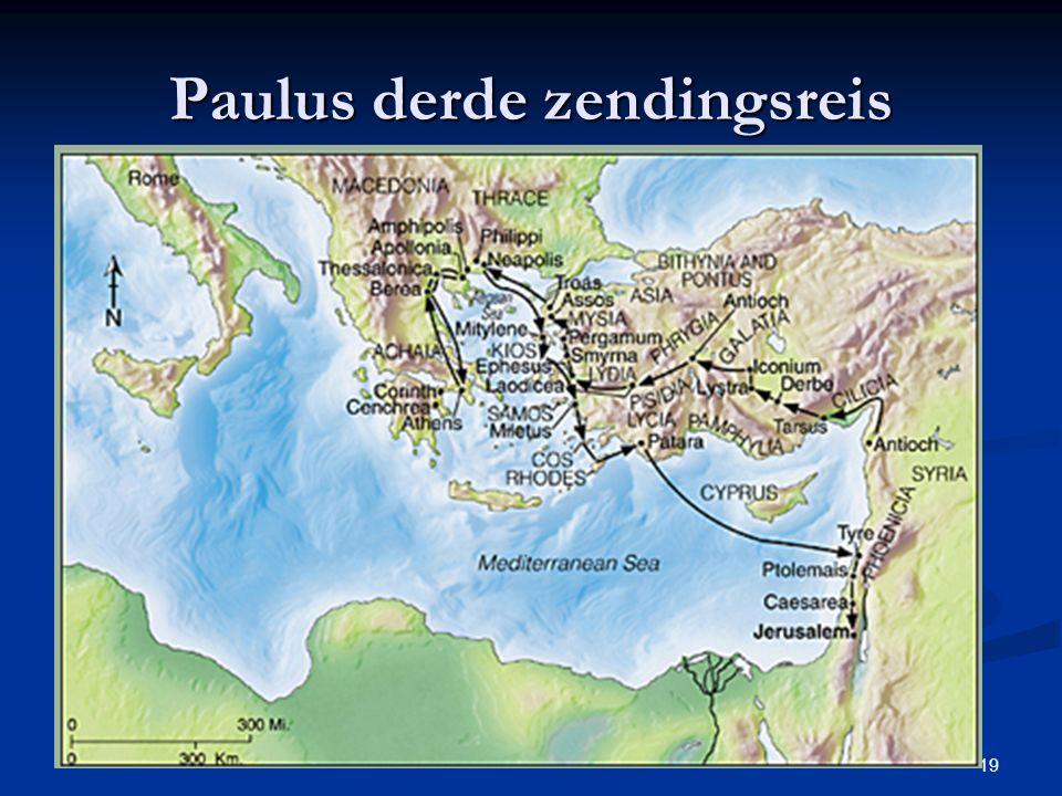 19 Paulus derde zendingsreis