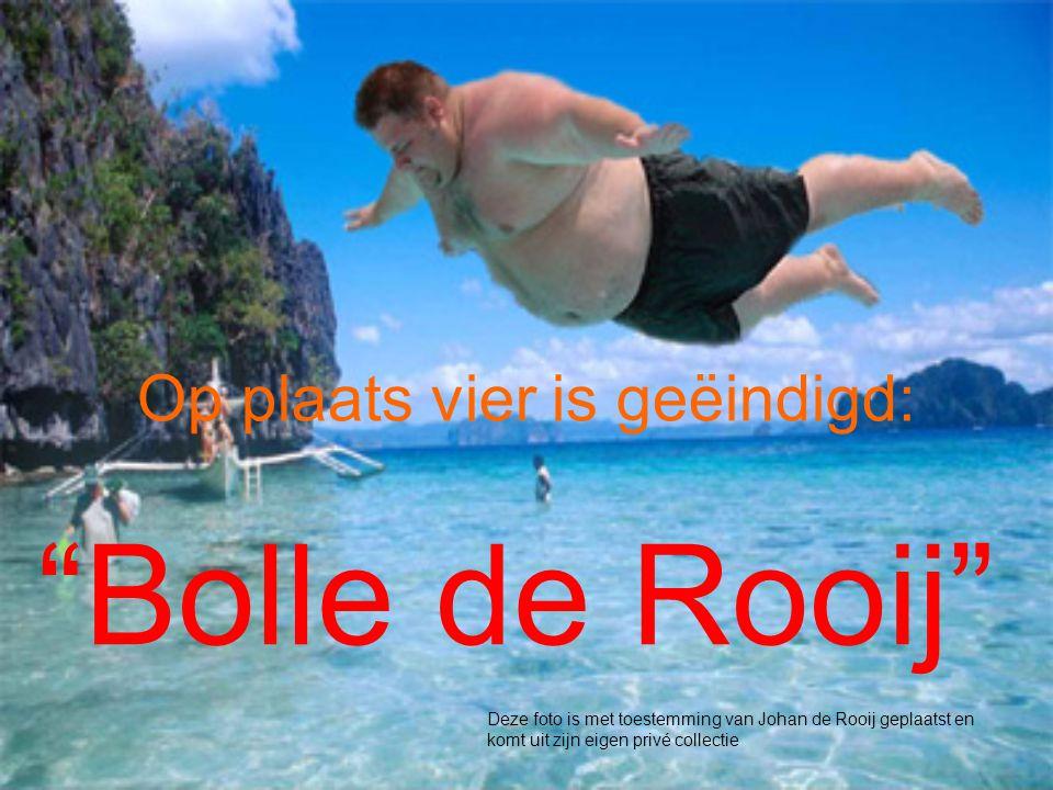 Op plaats vier is geëindigd: Bolle de Rooij Deze foto is met toestemming van Johan de Rooij geplaatst en komt uit zijn eigen privé collectie