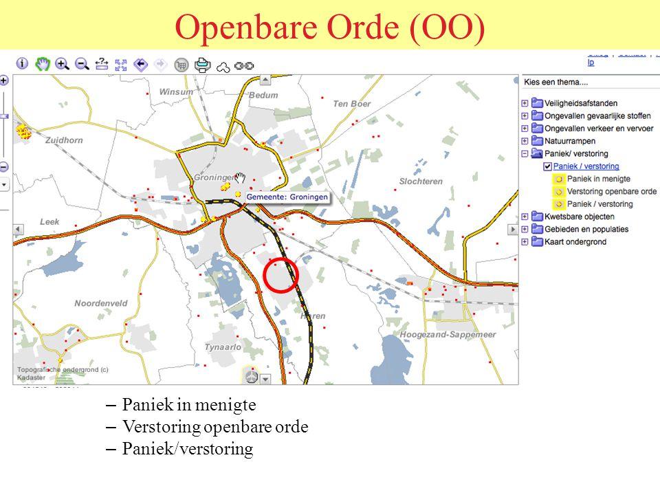 ORDEHANDHAVING IN MASSASITUATIES Politie Rotterdam-Rijnmond 25 october 2012
