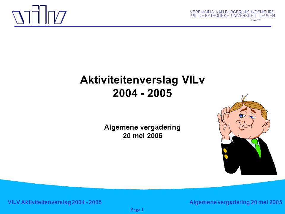 VERENIGING VAN BURGERLIJK INGENIEURS UIT DE KATHOLIEKE UNIVERSITEIT LEUVEN v.z.w.
